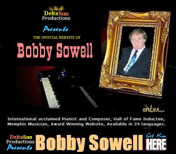 Click to enter Bobby Sowell Website