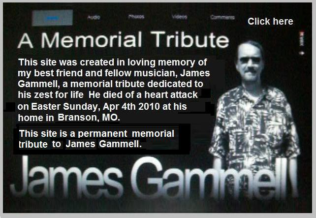 Click here: James Gammell Tribute Site